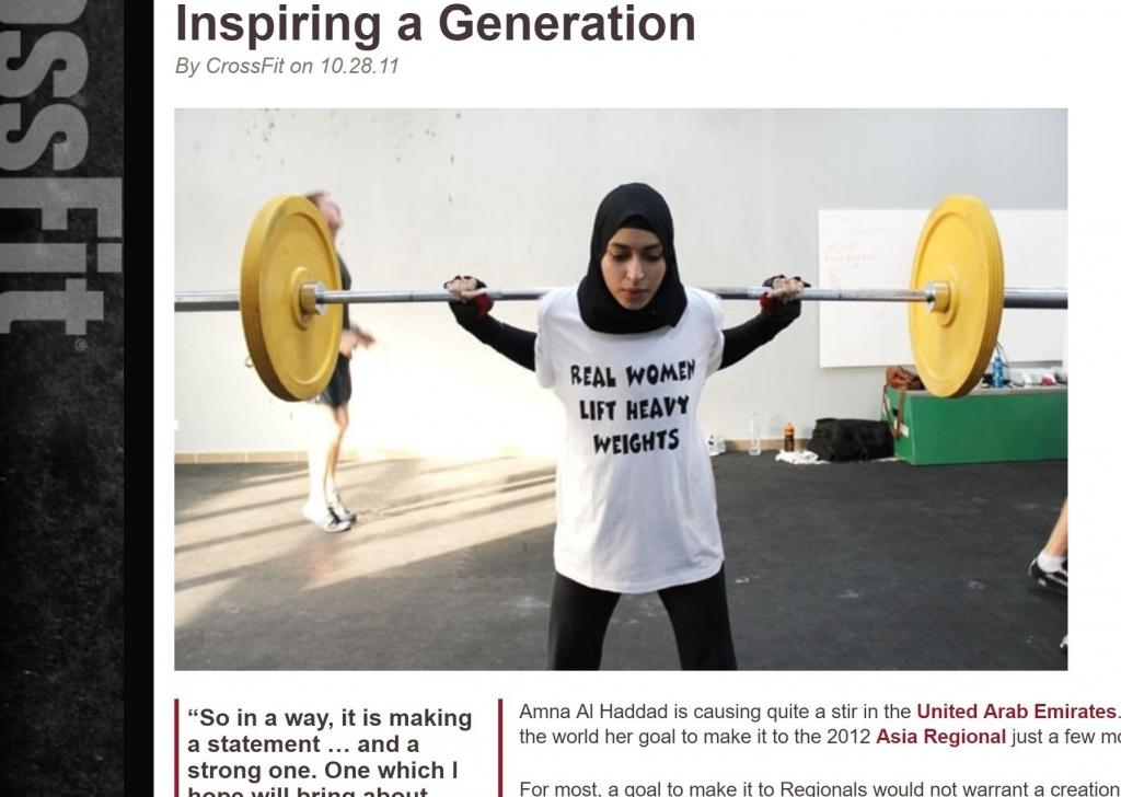 CrossFit: Inspiring a Generation
