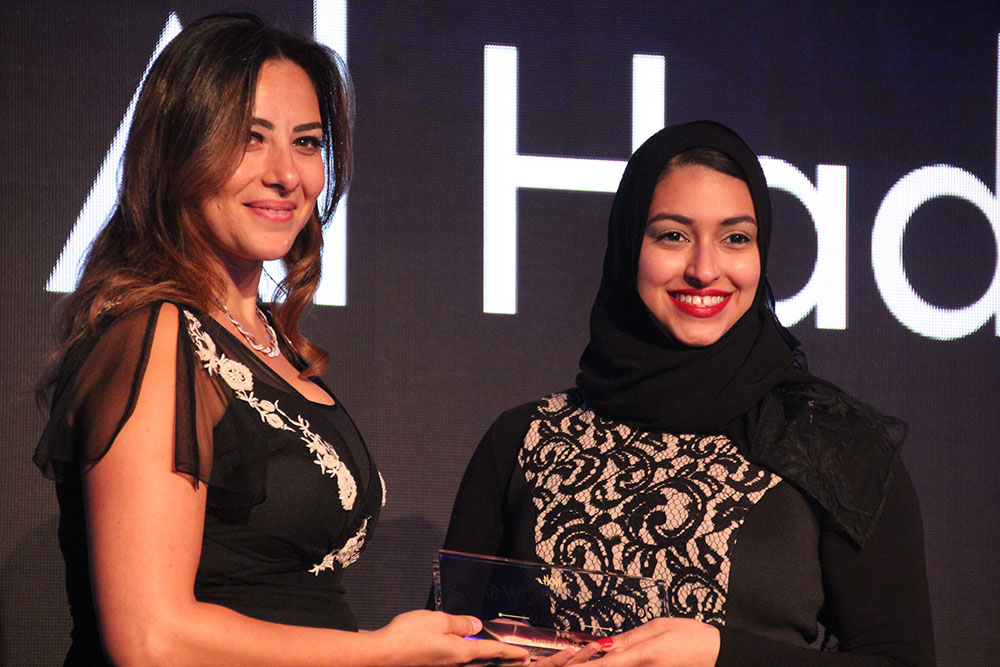 Amna receives Arab Woman Award, Sports